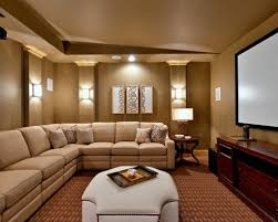 traditional home small media rooms theather nice watching movie here so  comfortable eating and talking