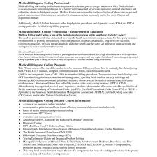 Medical Billing And Coding Resume Radiovkm Tk