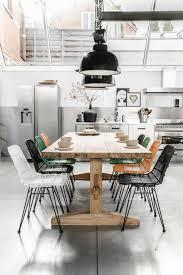 Stylish Industrial Dining Room Decor