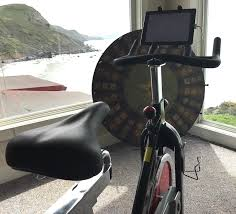 an introverted year of exercise with my diy peloton cycle