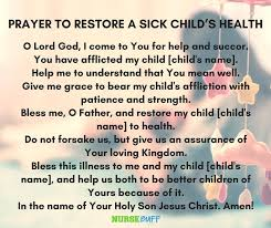 Prayer For The Sick Quotes Magnificent Photos Prayers For Sick Child Quotes Life Love Quotes