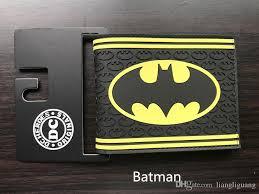 the revenge league batman wallet leather fashion high quality money bag card holders men women gift cartoon anime purse wallets purse wallet cute wallet