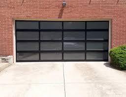 residential commercial garage door gallery dc company regarding glass panel doors ideas 10