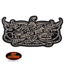 hot leathers filigree patch