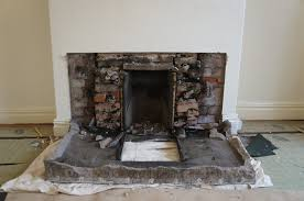 removing a tiled fireplace part 2