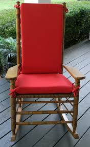 gorgeous red rocking chair cushions best ideas terrific outdoor design cushion set ticking swivel glider for