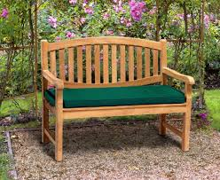 ascot 2 seater teak garden bench 1 2m