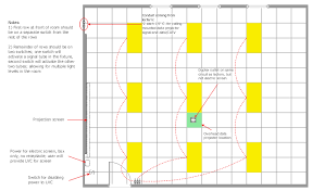 Lighting Scheme Lighting Scheme Window Casement Single Pole Switch Modular Fluorescent Grille Diffuser