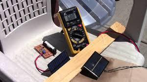 resurfacing small solar panels