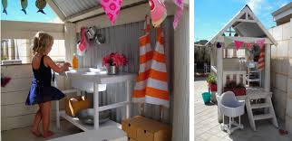 cubby house furniture. When The Cubby Was Moved To A New Spot, I Had This Overwhelming Need Sew Some Bunting - Metaphorically Speaking. So On Sunny Sunday We Set Work. House Furniture C