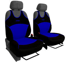 image is loading 2 blue front car seat covers sport for