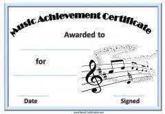 Piano Certificate Template Music Certificate Template Music Certificate Template Pinterest