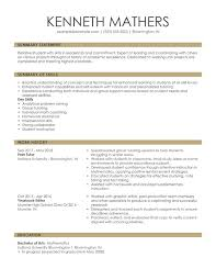 Chronological Resume Examples 2020 Free Online Resume Samples From Myperfectresume Com
