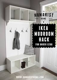 foyer furniture ikea. DIY Mudroom Bench And Storage From IKEA Stolmen Units For Under $200 Foyer Furniture Ikea R