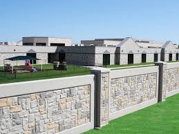 Small Picture What Can Precast Concrete Commercial Fences Gates and Walls Be