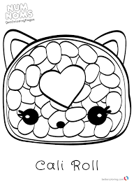 Num Noms Coloring Pages Free Printable Coloring Pages