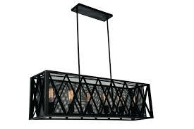 rectangular drum chandelier cake decoration pendant light lighting 6 shade