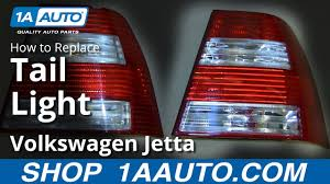 2012 Vw Jetta Brake Light Replacement How To Replace Tail Light 04 07 Volkswagen Jetta