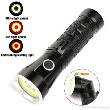 Rechargeable Torch Light Price 3000lm T6 Cob Mini Led Flashlight 90 Degree Fold Multifunction Torch Light With Magnet Hunting Camping Search Lantern Lamp Emergency Torch Kids