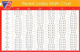 Riedell Figure Skate Size Chart Riedell Sizing Guide Lowpriceskates Com Speed Skates