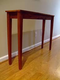 rumah minimalis entryway narrow tables