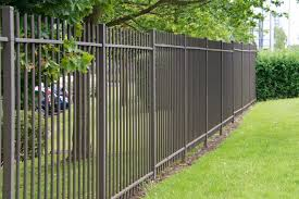 simple wrought iron fence. A Very Simple Wrought Iron Fence Without Any Intricate Designs, Still Has A  Classic Look. Pinterest