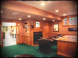 office paneling. Basement Office With Fireplace Enlarged Window And Wainscot Paneling Www I