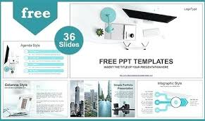 Business Proposal Powerpoint Simple Office Computer View Template List Best Powerpoint