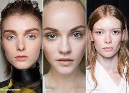 spring summer 2016 makeup trends natural no makeup makeup