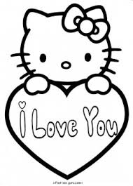 Click on the free hello kitty colour page you would like to print, if you print them all you can make your own. Hello Kitty Valentines Day Coloring Pages For Kids Free Kids Coloring Pages Printable