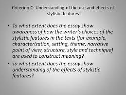 language a language and literature ppt 7 criterion