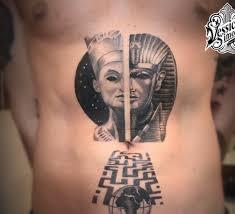 Tattoo Uploaded By Vessichelli Simone Tutankhamon Nefertiti