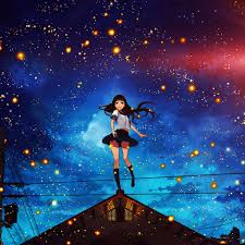 We have a massive amount of desktop and mobile backgrounds. Anime Space Girl Wallpapers Top Free Anime Space Girl Backgrounds Wallpaperaccess
