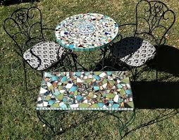 mosaic tabletop 13mosaic garden project