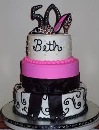 50th Birthday For Fancy Lady Cakecentralcom