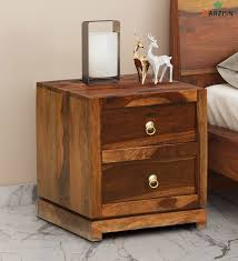barzisn solid wood bed side table 2