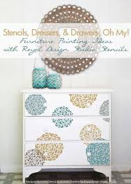 stenciling furniture ideas. todayu0027s focus is on sharing fun and fabulous diy furniture stencil projects stenciling easy peasy the best way to add a custom ideas o