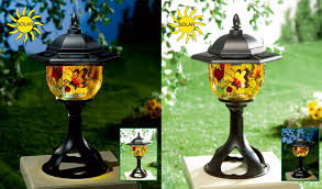 Amazon Com Solar Patio And Garden Light Tiffany Style Primcess Garden Lights Led Amazon