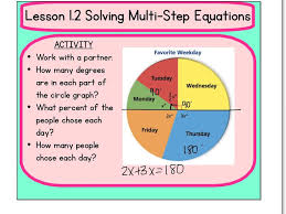 lesson 1 2 solving multi step equations