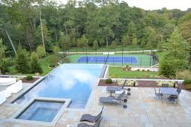 Landscaping Ideas Paradise Pools To Build Premier Luxury Fiberglass Plunge  Gunite Inground Pictures Of Small Pool ...