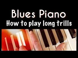 In e flat major a trill written over d will be between d and e flat, as your band teacher says, starting on d. 304 Blues Piano Lesson How To Trill Independent Of The Left Hand Youtube Blues Piano Piano Lessons Piano Music