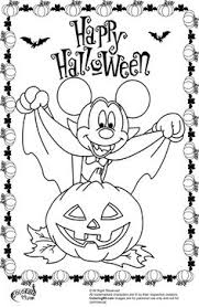 Small Picture Free Disney Halloween Coloring Sheets Mickey mouse halloween