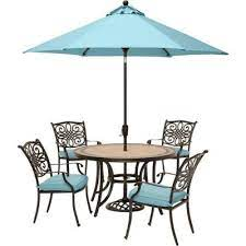 umbrella included patio dining sets