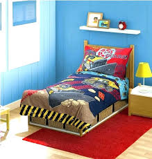 construction truck bedding old bed sheets