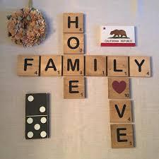 scrabble oversized letter tiles whimsy