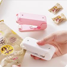 Portable Mini Sealing <b>Machine Household Food Bag</b> Sealer Seal ...