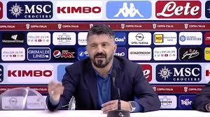 Il ringhio di Gattuso nel post Napoli Perugia