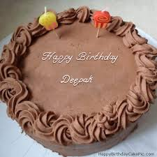 Happy Birthday Cake My Love Deepak