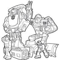 Small Picture PLAYSKOOL Heroes Transformers Rescue Bots Coloring Page Heatwave