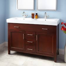Teak Vanity Bathroom 30 Holloway Teak Vanity For Semi Recessed Sink Trough Sink